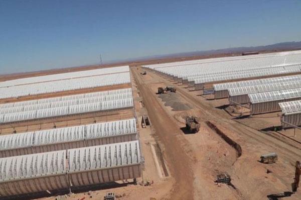 أُنشأت المحطة استجابة لرؤية الملك محمد السادس في تحويل المغرب إلى قوة عظمى في مجال الطاقة المتجددة
