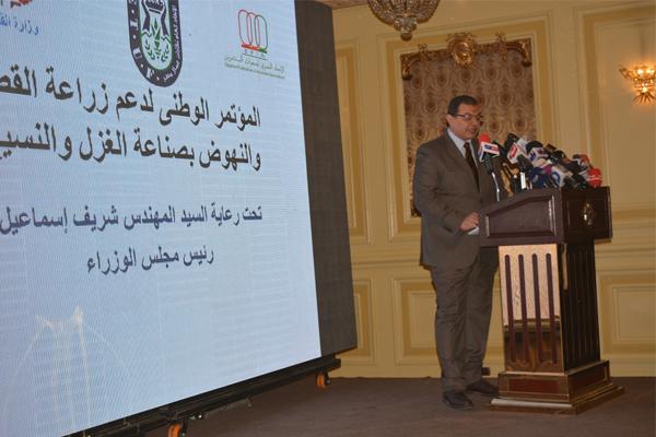 رئيس الحكومة: صناعة النسيج في مصر تواجه مشاكل ضخمة