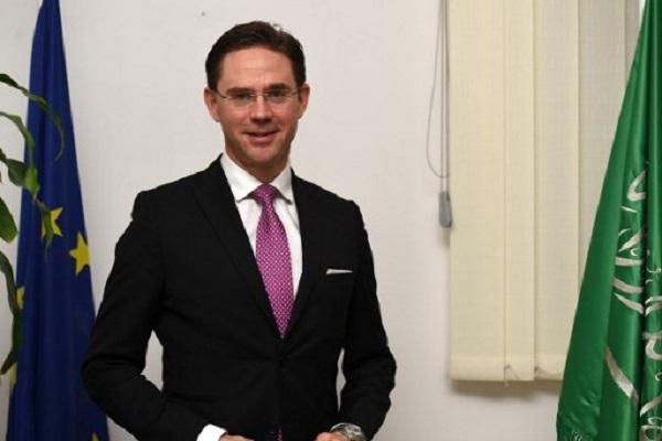 نائب المفوضية الأوروبية بوركين كتاينين في الرياض