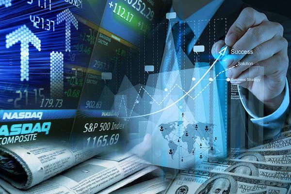 البيانات المالية لأكبر خمس شركات في السوق المالية