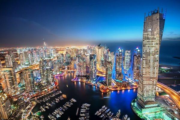 مشهد عام لمارينا دبي - أرشيفية