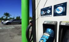 محطة للتزوّد بالوقود في كاليفورنيا