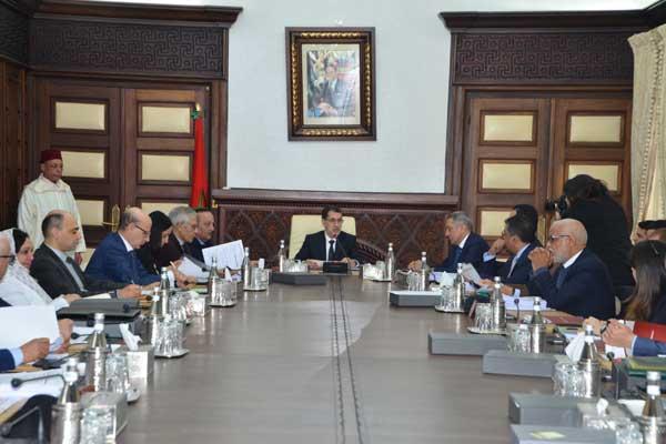 العثماني لدى ترؤسه لجنة الاستثمار