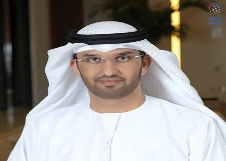 الدكتور سلطان أحمد الجابر وزير دولة الرئيس التنفيذي لشركة بترول أبوظبي الوطنية