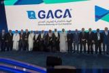 صورة تذكارية للمشاركين في المنتدى الذي استضافته الرياض