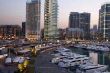 صورة عامة للعاصمة اللبنانية بيروت
