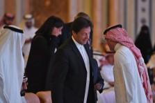رئيس الوزراء الباكستاني عمران خان في الرياض خلال مشاركته في مؤتمر الاستثمار