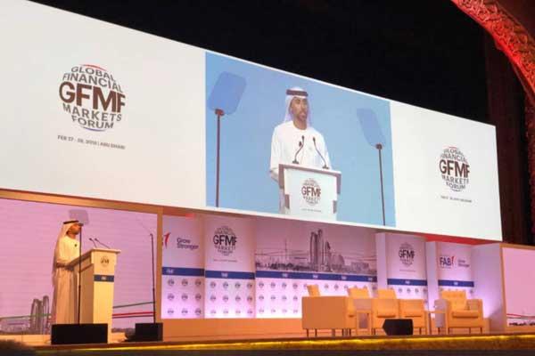 سهيل المزروعي وزير الطاقة والصناعة الإماراتي، في تصريحات خلال ملتقى ملتقى أسواق المال