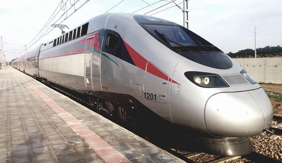 القطار المغربي فائق السرعة