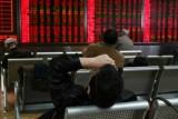 لائحة لأسعار الأسهم في مقر إحدى الشركات في بكين بتاريخ 21 يناير 2019