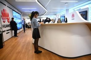 متجر لبيع هواتف هواوي في بروكسل