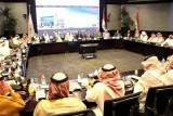 الوفد التجاري السعودي أثناء مياحثات مع الجانب المصري