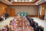 اجتماعات ولي العهد السعودي في كوريا الجنوبية