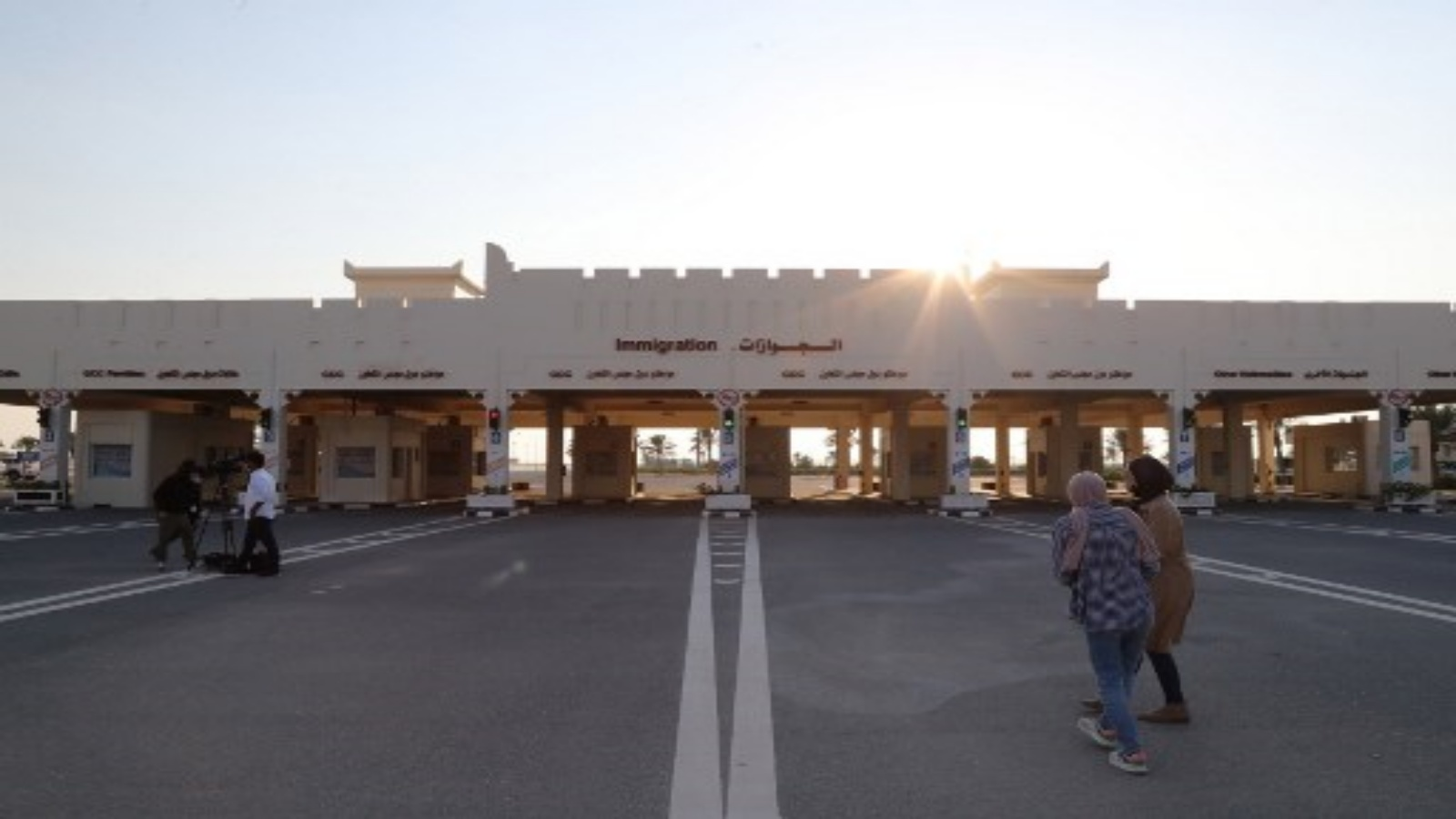 السعودية نيوز |  إعادة فتح المعبر الحدودي بين قطر والسعودية