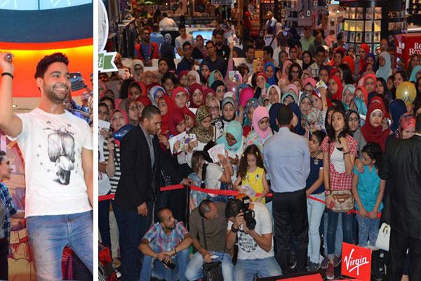 أحمد جمال والحضور