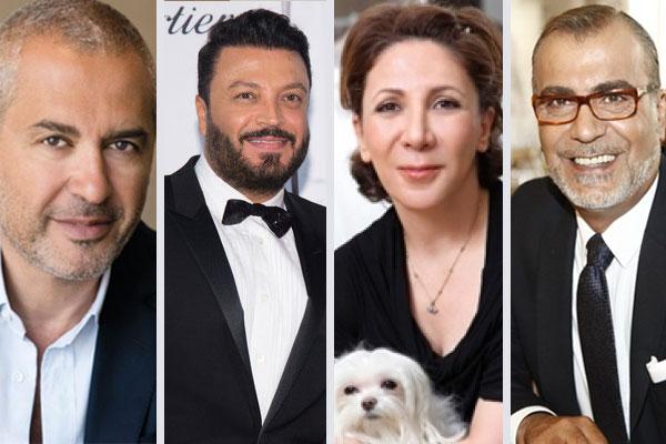 المصممون جورج شقرا، ريم عكرا، زهير مراد وإيلي صعب