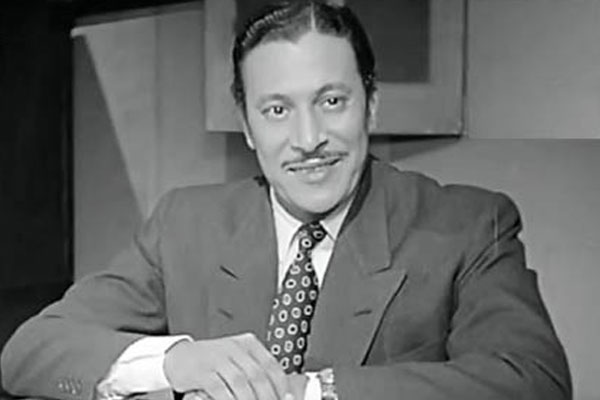 عماد حمدي في شبابه
