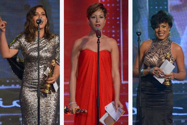 أفضل ممثلات بجوائز المهرجان