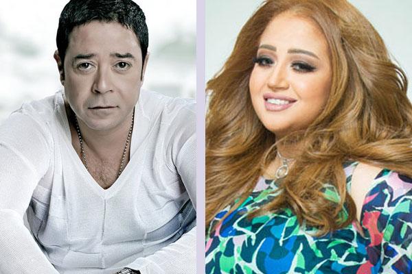 ريهام عبد الحكيم ومدحت صالح