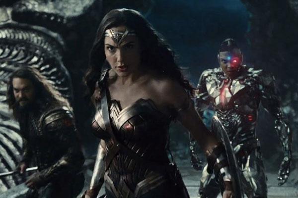 الملصق الدعائي لفيلم Justice League