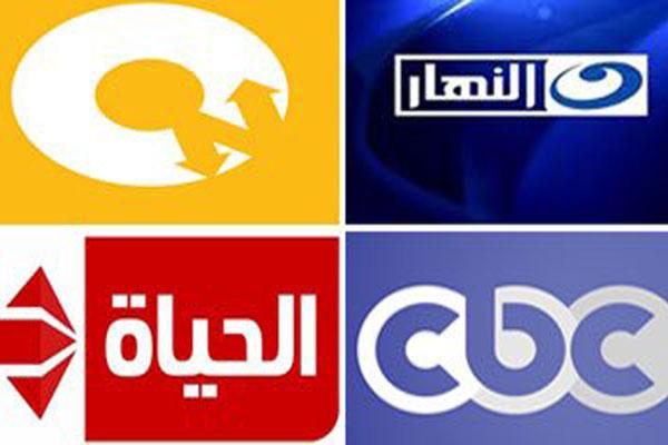 شعارات لقنوات مصرية منضوية في الاتفاق
