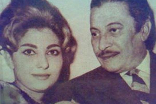 عماد حمدي ونادية الجندي