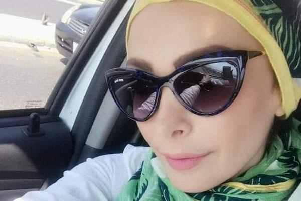أمل حجازي بحجابها العصري