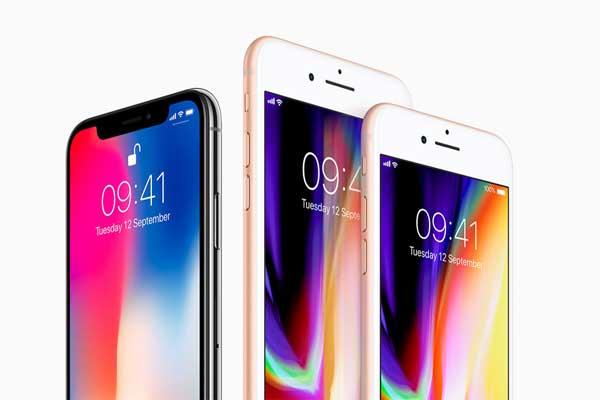 الهواتف الجديدة إيفون 8 وإيفون 8 بلاس