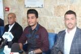 خلال المؤتمر الصحافي