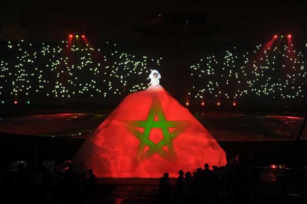 وصلة جنات مهيد في افتتاح (شان) أفريقيا