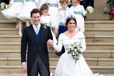 العروسان بعد عقد القران