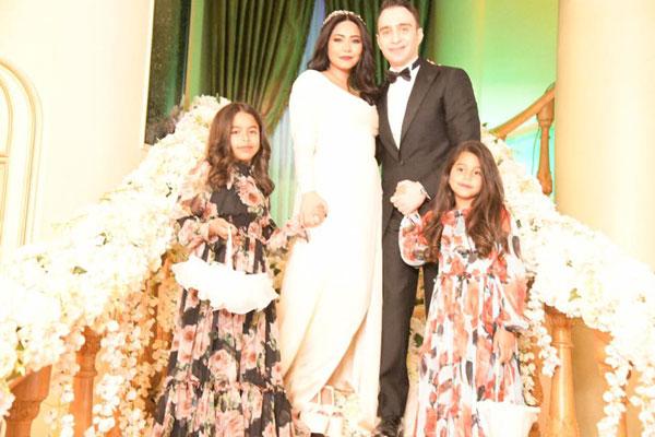 الصورة الرئيسية من حفل الزفاف