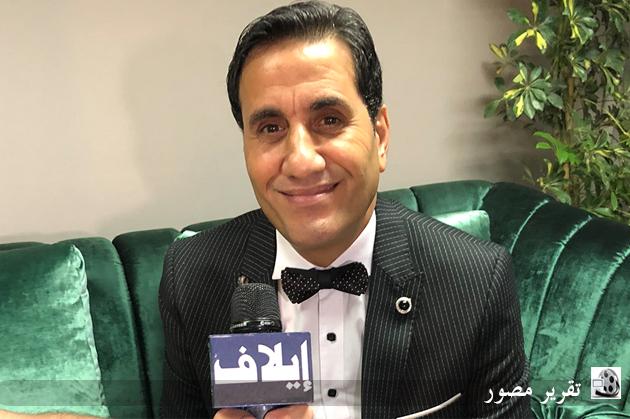 أحمد شيبة متحدّثاً لكاميرا إيلاف من كواليس حفله في مهرجان موازين ٢٠١٨