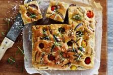 الخبز الايطالي مع الخضَر