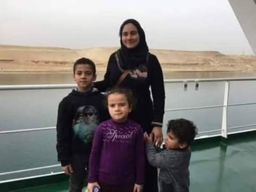 زوجة أحمد منسي وأولاده