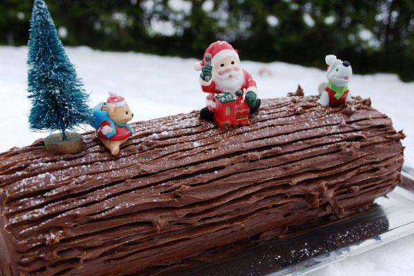 كعكة عيد الميلاد Buche de Noel