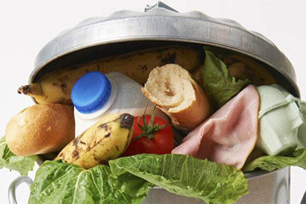 النفايات العضوية نتيجة هدر المواد الغذائية