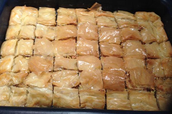 بالصور: حضروا بقلاوة العيد في مطبخكم
