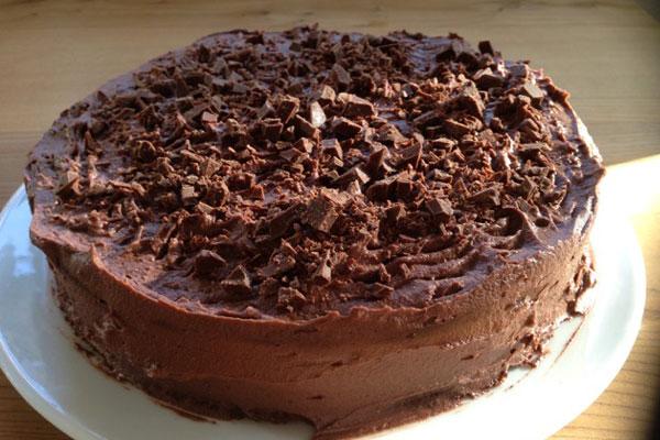 كعكة الشوكولا
