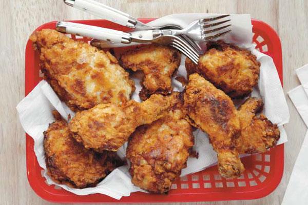 الدجاج المقلي وفقاً للخطوات الصحيحة