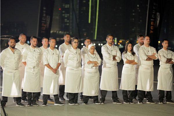 الطهاة المتسابقون في البرنامج