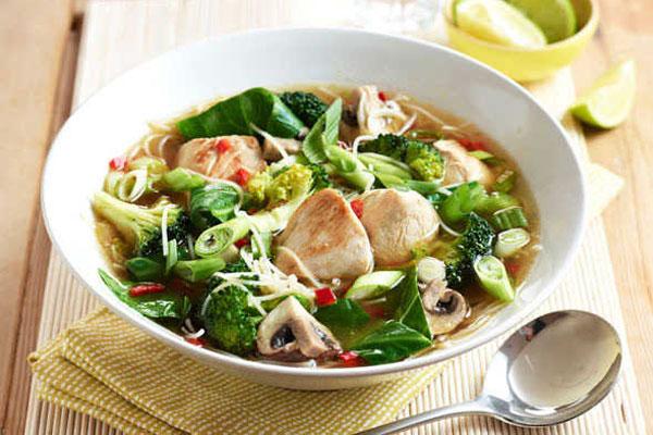 حساء الدجاج Miso