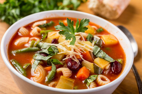 حساء شوربة الخضَر