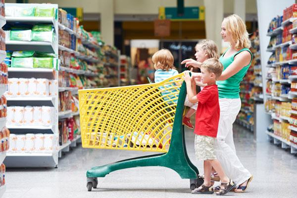 إحذروا الجراثيم في عربة التسوق