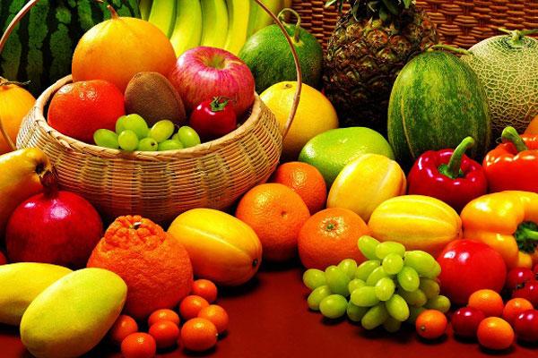 أنواع من الفاكهة والخُضَر