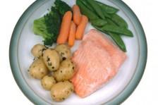 الطبق المغذي دون دهون