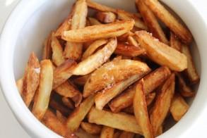 البطاطا المقلية بطريقة صحية