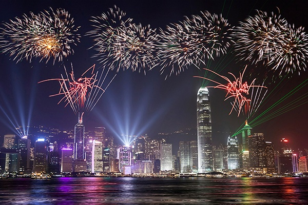 ليلة رأس السنة في هونغ كونغ