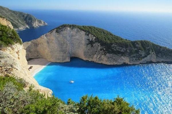 أجمل شواطئ اليونان