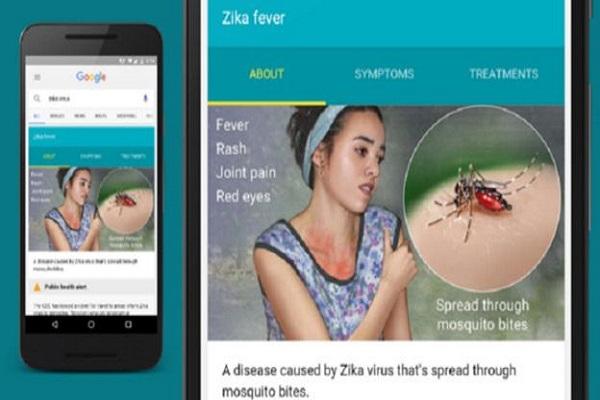 أعطت غوغل أولوية لنشر معلومات عن فيروس زيكا في بعض البلدان